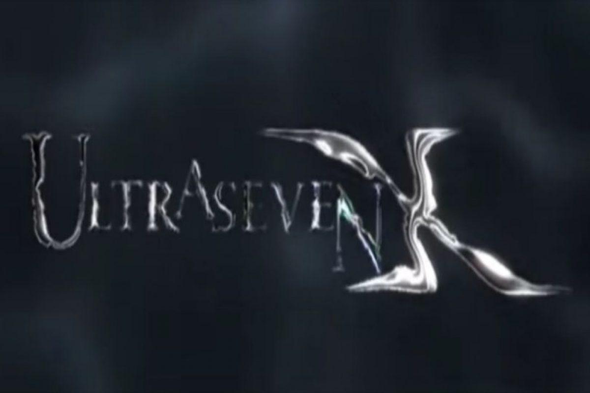 Ultraseven X es una serie que conmemora la legendaria Ultraseven. Foto:Tumblr. Imagen Por: