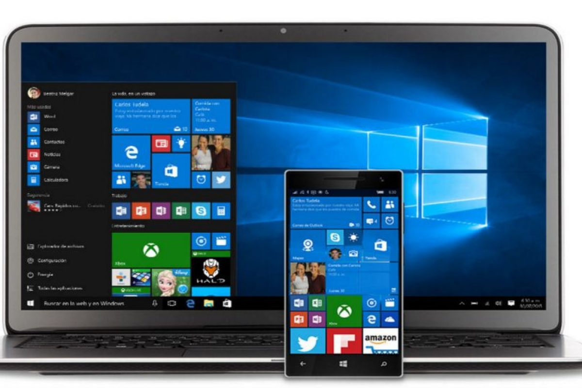 Windows 10 se ha reseñado como el mejor Windows de la historia. Foto:Windows. Imagen Por: