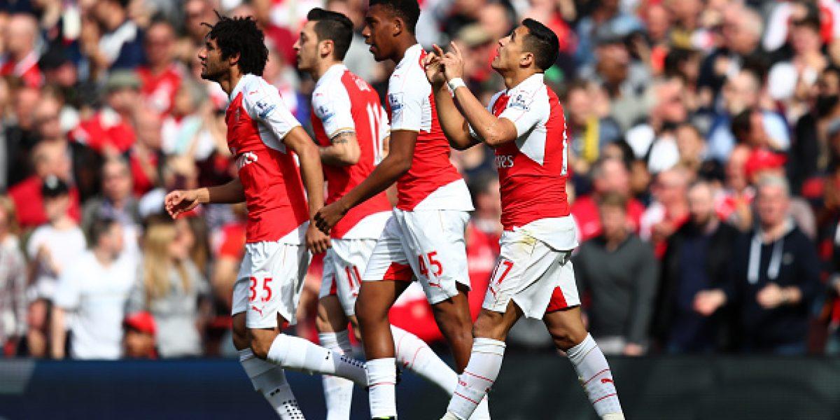 Alexis regresó en gloria y majestad a Inglaterra: Marcó un gol y fue figura ante el Watford