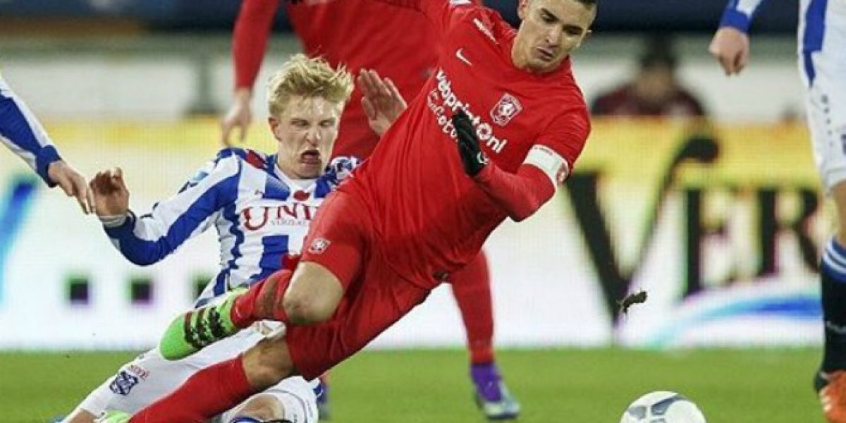 Felipe Gutierrez fue titular y capitán en remontada del Twente en Holanda