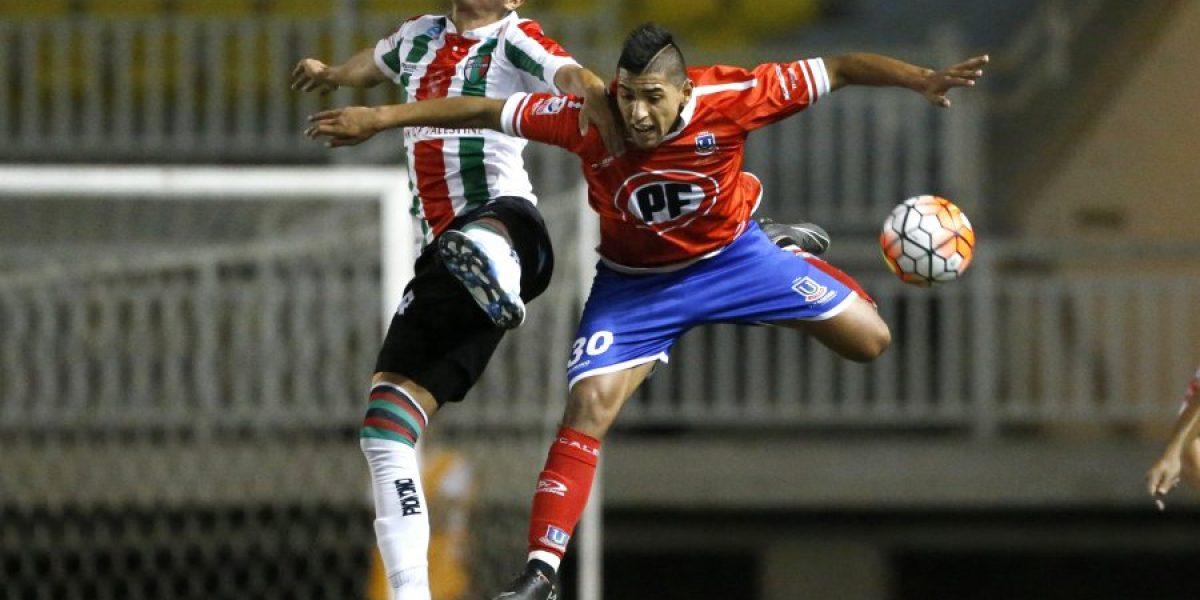 Una genialidad de Nicolás Maturana le dio un sufrido empate a Palestino ante La Calera