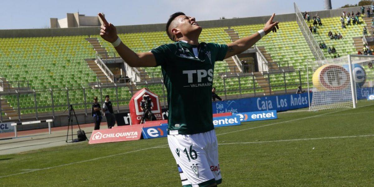 Carlos Muñoz feliz por su jornada goleadora: