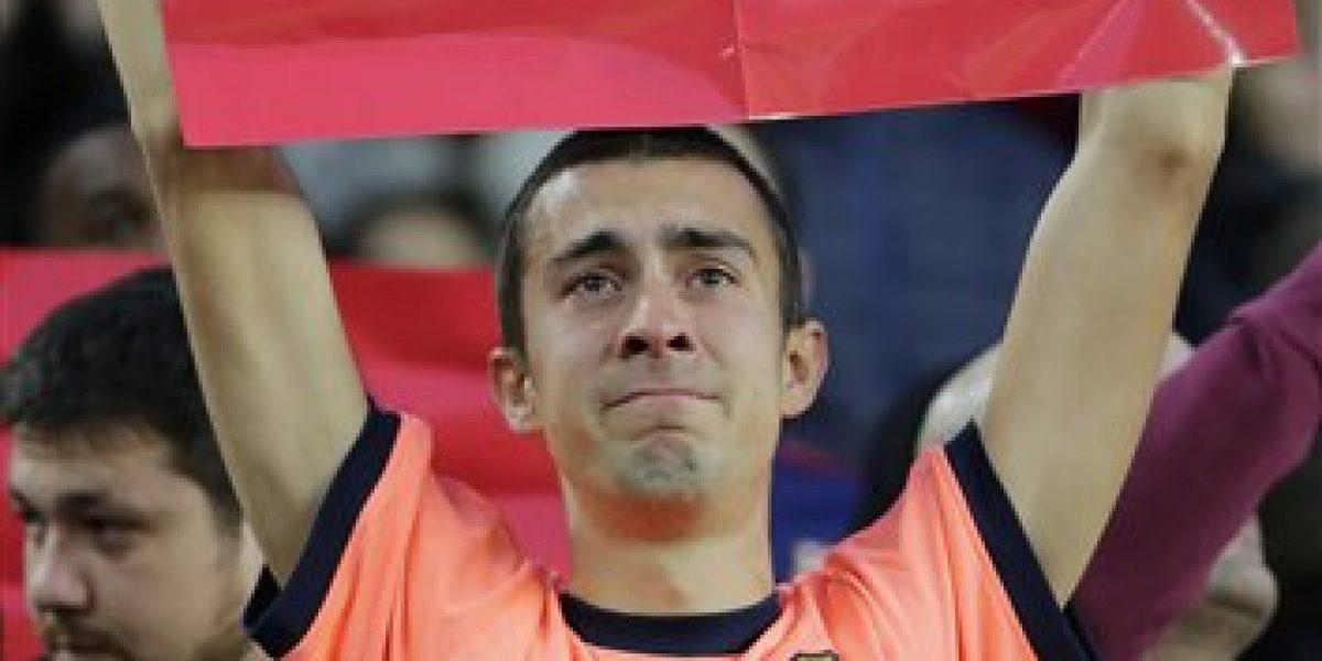 El emotivo homenaje que el Camp Nou le brindó al fallecido Johan Cruyff