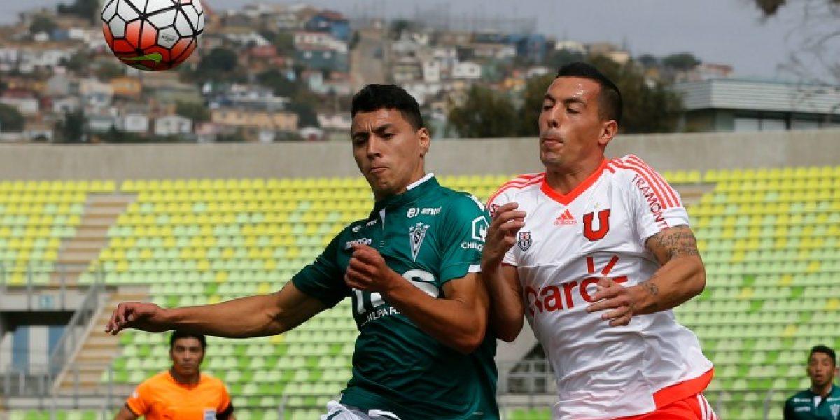 En directo: Wanderers venció a la U y es sublider del torneo de Clausura