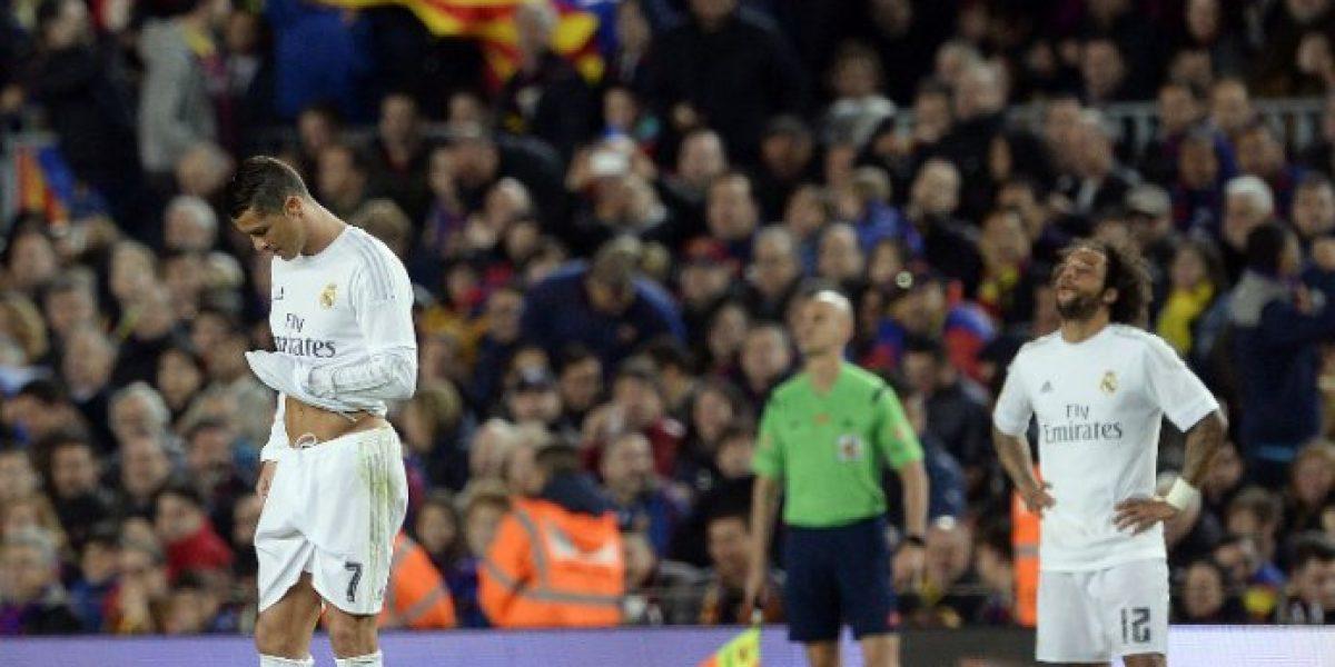 Cristiano Ronaldo hizo de las suyas y le amargó el derbi al Barcelona de Claudio Bravo