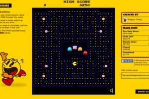 Revivan su infancia con el querido Pac-Man. Foto:Pac-Man. Imagen Por: