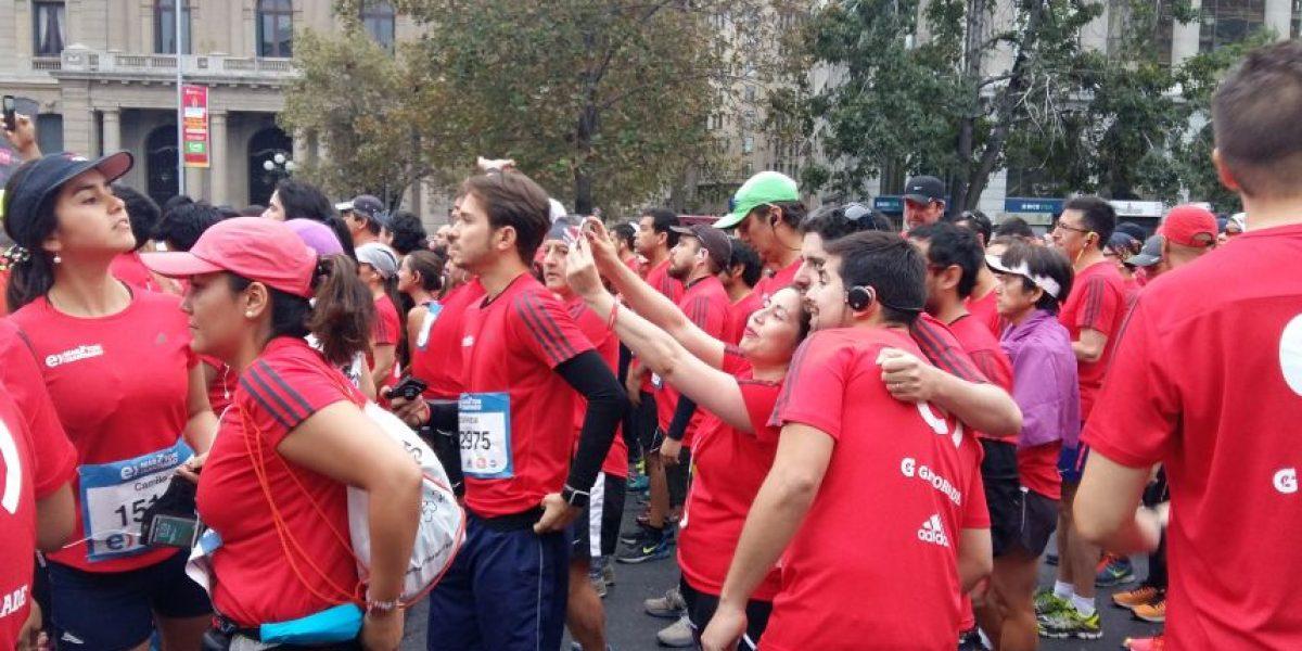 Más de 28 mil personas se tomaron la Alameda en una nueva versión del Maratón de Santiago