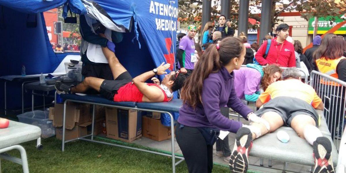 3 extranjeros hospitalizados y más de 900 atenciones médicas dejó la Maratón de Santiago