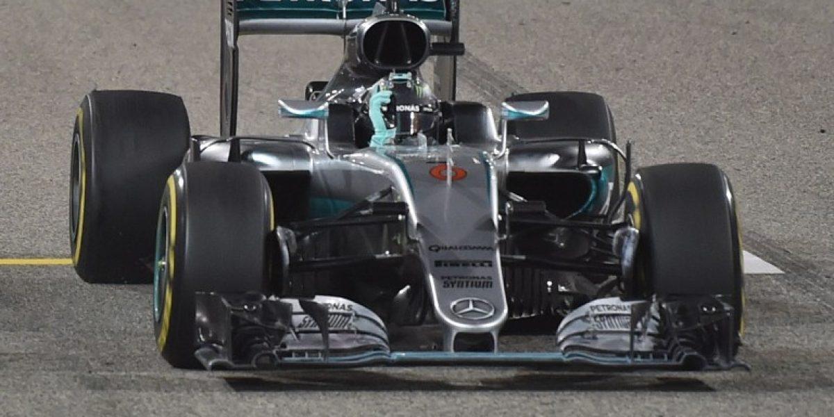 Sigue en racha: Rosberg consiguió su segunda victoria del año en el GP de Bahréin