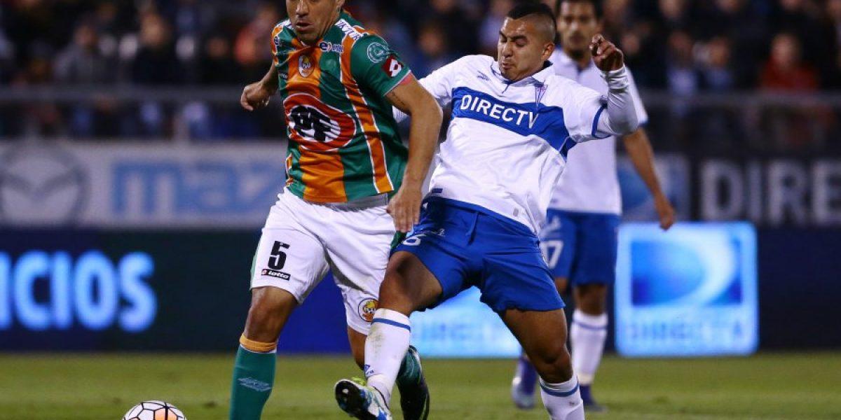 A la UC le bastó un solitario gol de Castillo para quedar como único puntero del Clausura