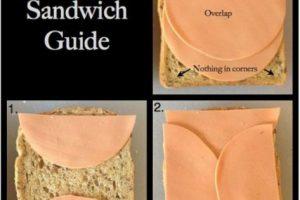Preparar sánduches: no deben dejar que lo de adentro se salga del pan. Foto:vía Tumblr. Imagen Por: