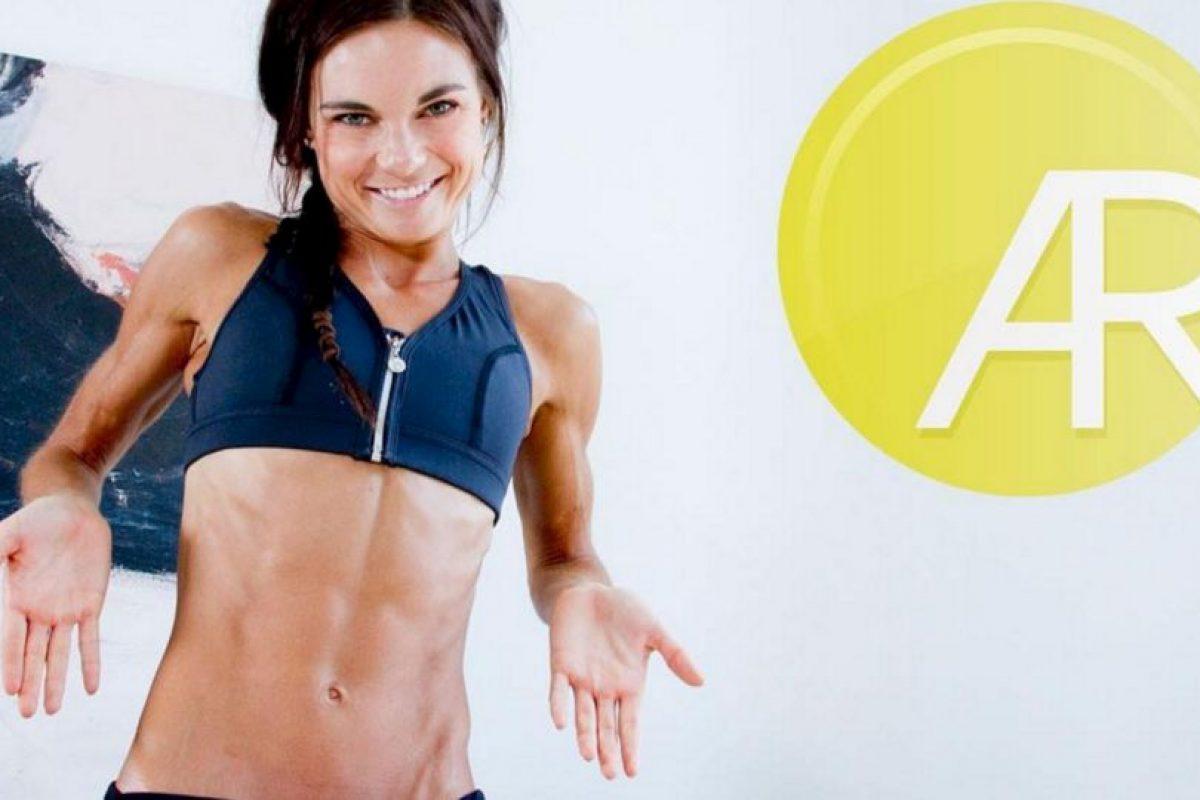 Fundó la página FitStrongAndSexy.com para compartir sus conocimientos de fitness con personas de todo el mundo Foto:Vía instagram.com/amandarussellfss. Imagen Por:
