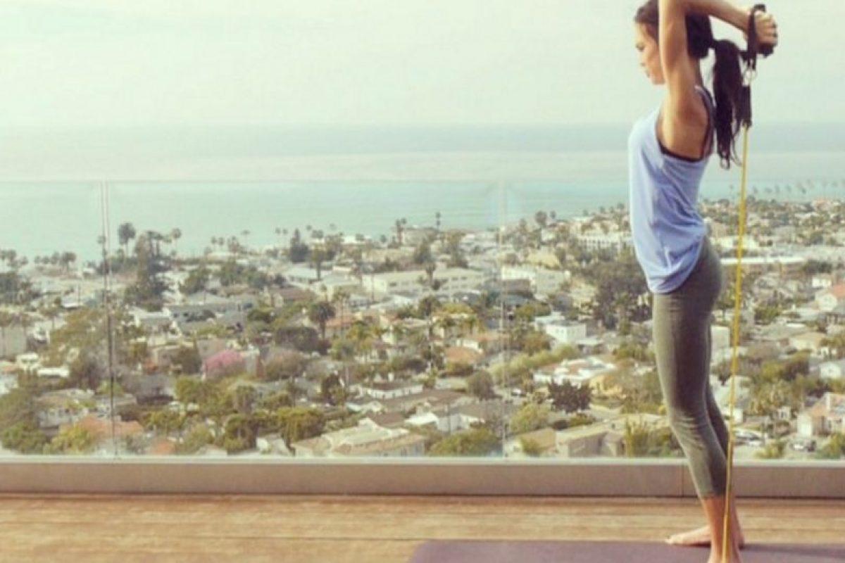 Sin embargo, una lesión le impidió realizar sus sueños, y entonces se dedicó al fitness. Foto:Vía instagram.com/amandarussellfss. Imagen Por: