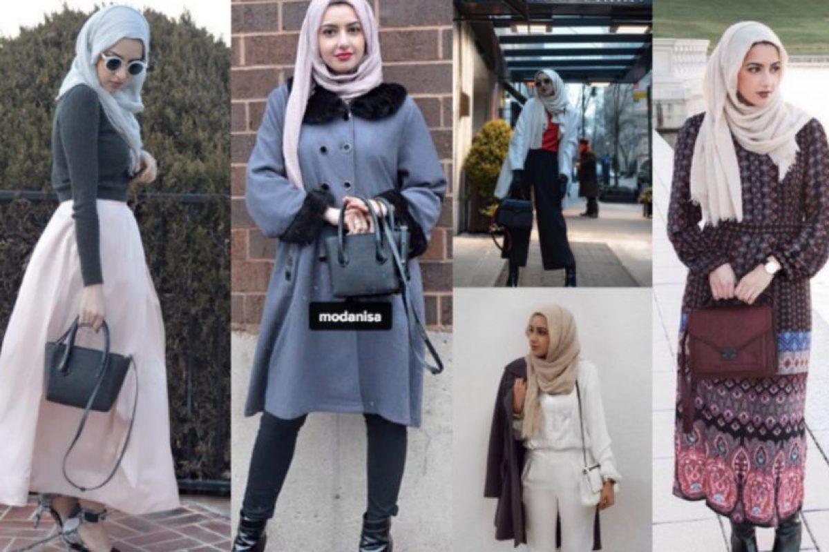 """Summer Albarcha. Creó en 2012, en Instagram, la cuenta """"Hipster Hijabis"""". Foto:vía Instagram. Imagen Por:"""