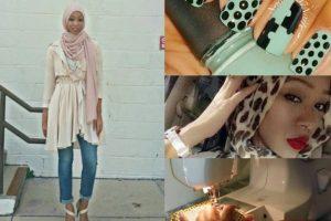 Nadira Abdul Quddus. Más que destacarse por su estilo, es famosa por sus DIY. Crea cualquier tipo de prenda con sus famosos tutoriales. Foto:vía Instagram. Imagen Por: