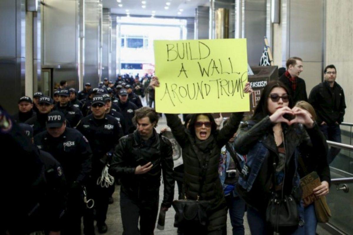 Aparte de la latina, aunque él se refiera a la inmigración ilegal. Foto:vía Getty Images. Imagen Por: