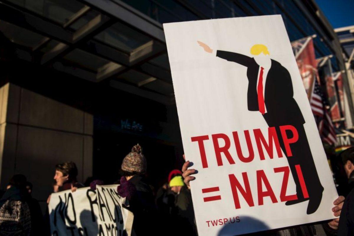 Y de incitador del odio. Foto:vía Getty Images. Imagen Por: