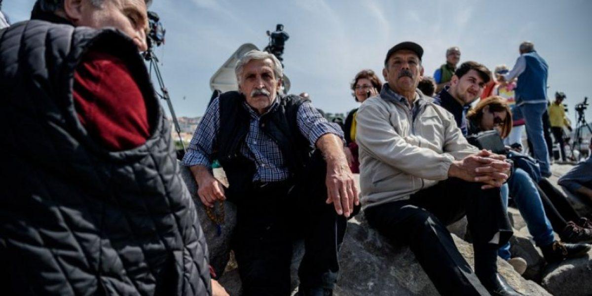 Llegan a Turquía los primeros migrantes expulsados tras pacto UE-Ankara