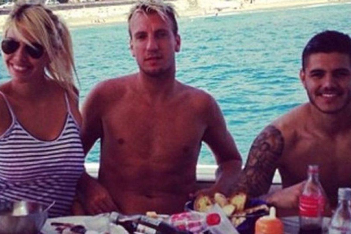 Entonces, Icardi era amigo de López y se reunía con la pareja con frecuencia. Foto:Vía twitter.com. Imagen Por: