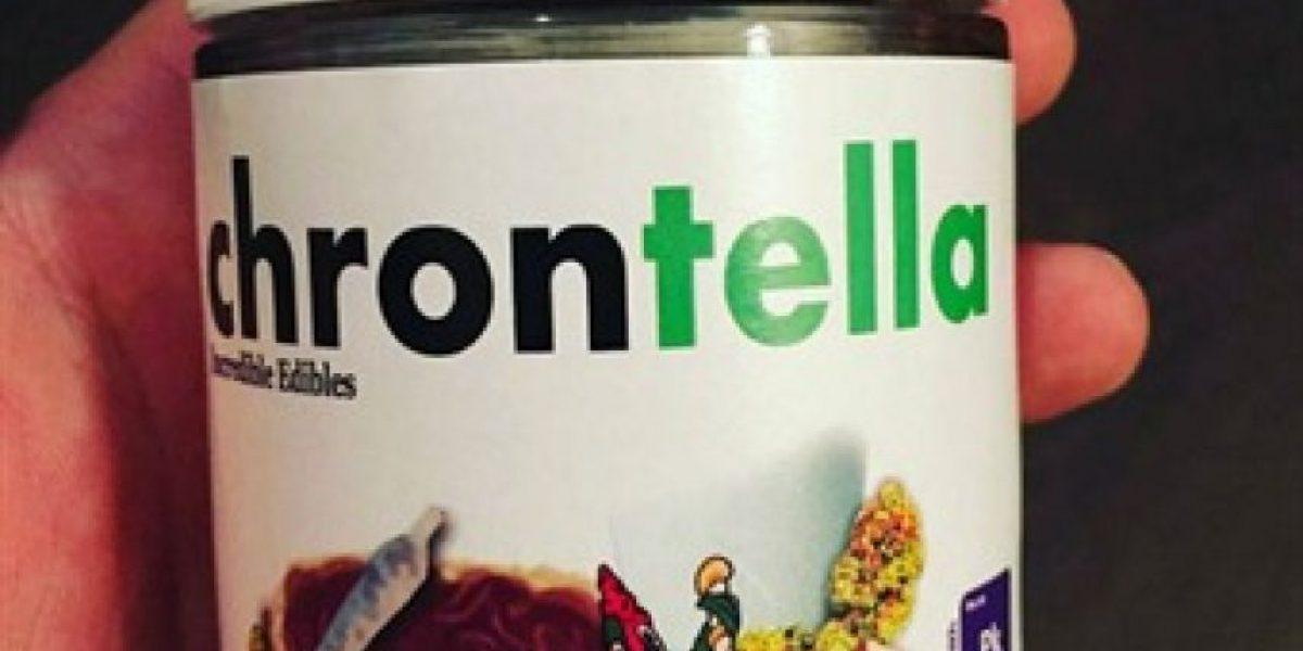Canadá: comercializan la Nutella con marihuana