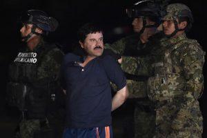 """""""El Chapo"""" Guzmán fue recapturado en enero de este año. Foto:AFP. Imagen Por:"""