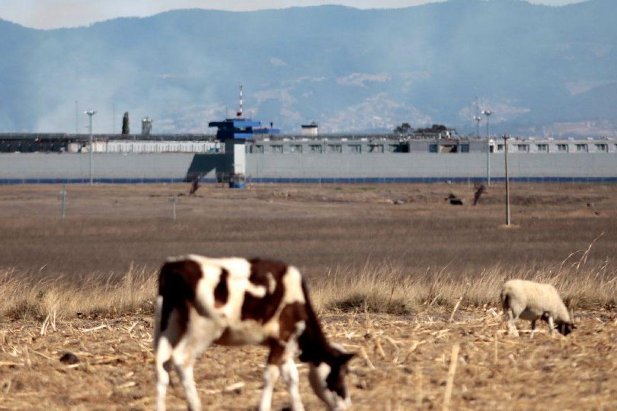 """El penal """"El Altiplano"""", a 1,5 kilómetros de distancia de la casa a la que estaba conectada el túnel por el que """"El Chapo"""" escapó en junio de 2015. Foto:AFP. Imagen Por:"""