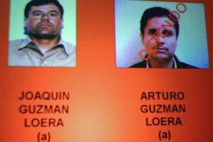 """Ficha de captura de """"El Chapo"""" Guzmán y su hermano, """"El Pollo"""". Foto:AFP. Imagen Por:"""