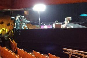 Además de los relatores, existía un panel de expertos que analizó en la previa la táctica de ambos grupos. Foto:Publimetro / Víctor Jaque. Imagen Por: