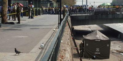 Investigan hallazgo de feto en la ribera del río Mapocho en pleno centro de Santiago