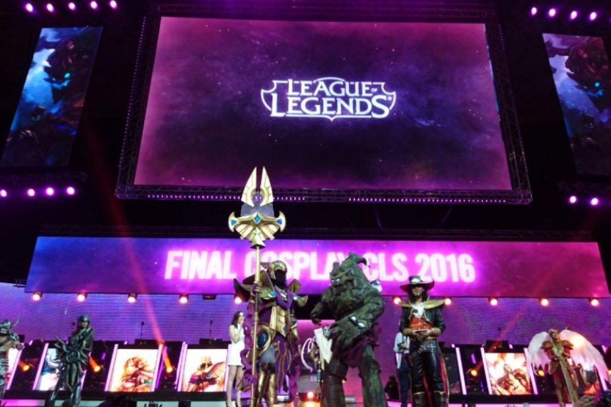 Un entretenido concurso de cosplay animó la previa. Foto:Publimetro / Víctor Jaque. Imagen Por: