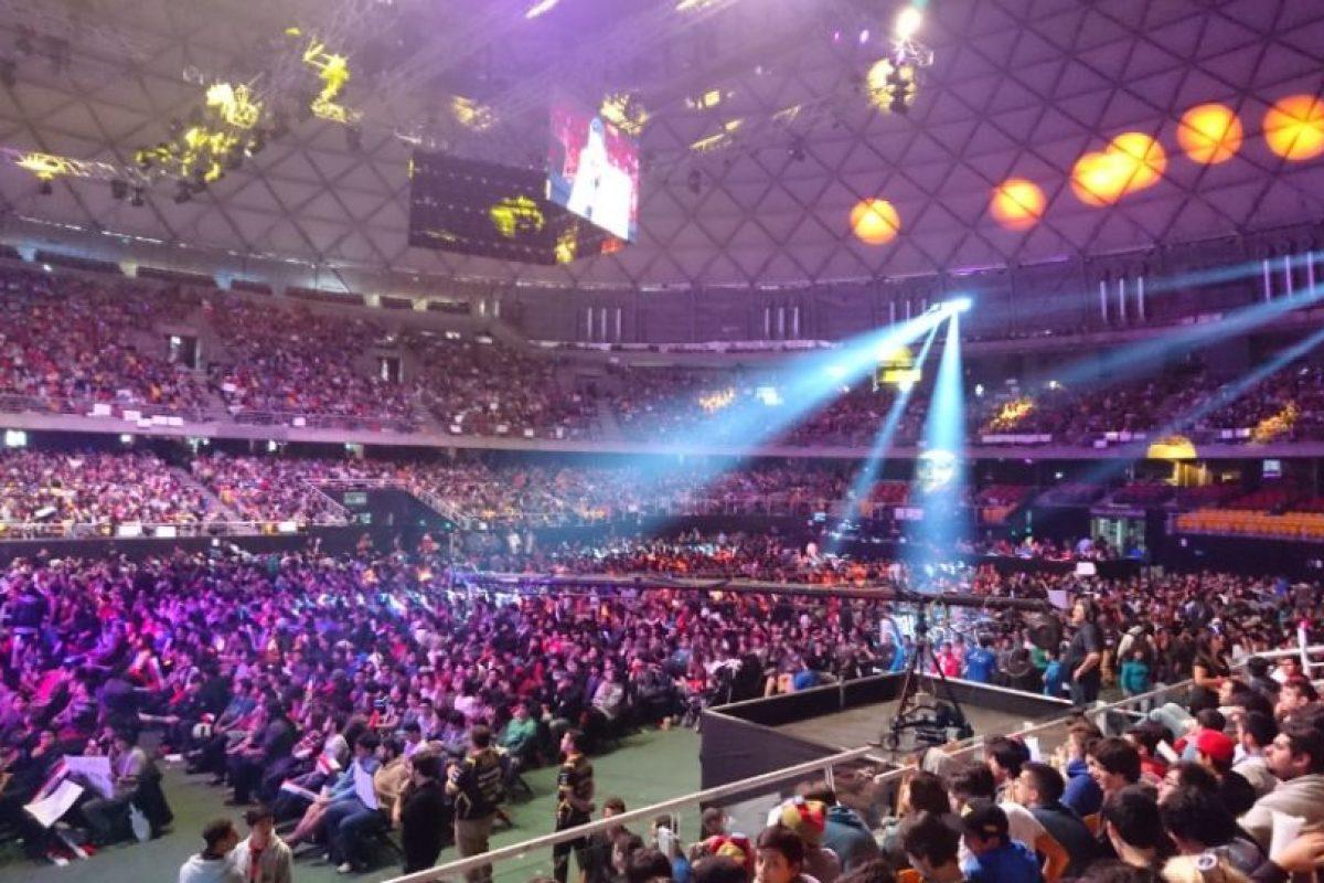 Repleto se encontraba el Movistar Arena. Foto:Publimetro / Víctor Jaque. Imagen Por: