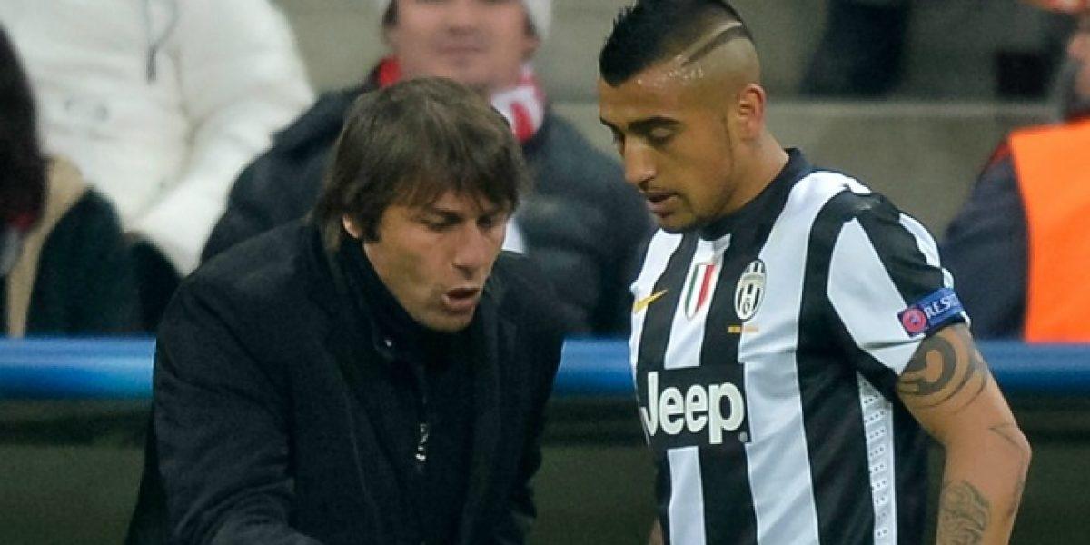 ¿Se acerca Vidal a Inglaterra? Conte es confirmado como nuevo DT del Chelsea
