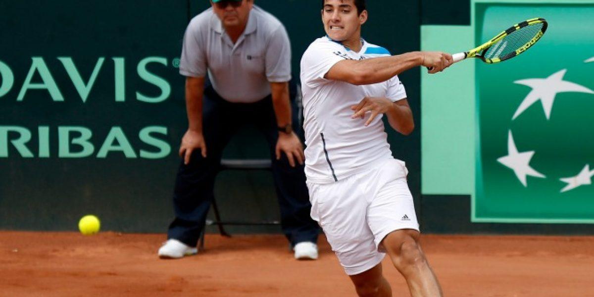 Ranking ATP: Christian Garín fue el único chileno que trepó escalafones