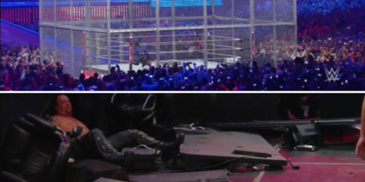 El demencial movimiento de Shane que determinó el triunfo del Undertaker en Wrestlemania