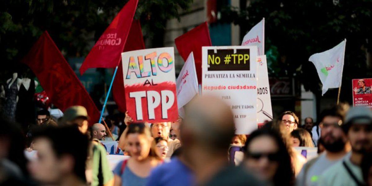 Organizaciones contra el TPP anuncian nuevas movilizaciones