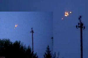 Muchas de las imágenes de supuestos avistamientos corresponden a fotos de luces nocturnas. Foto:Imagen de internet. Imagen Por: