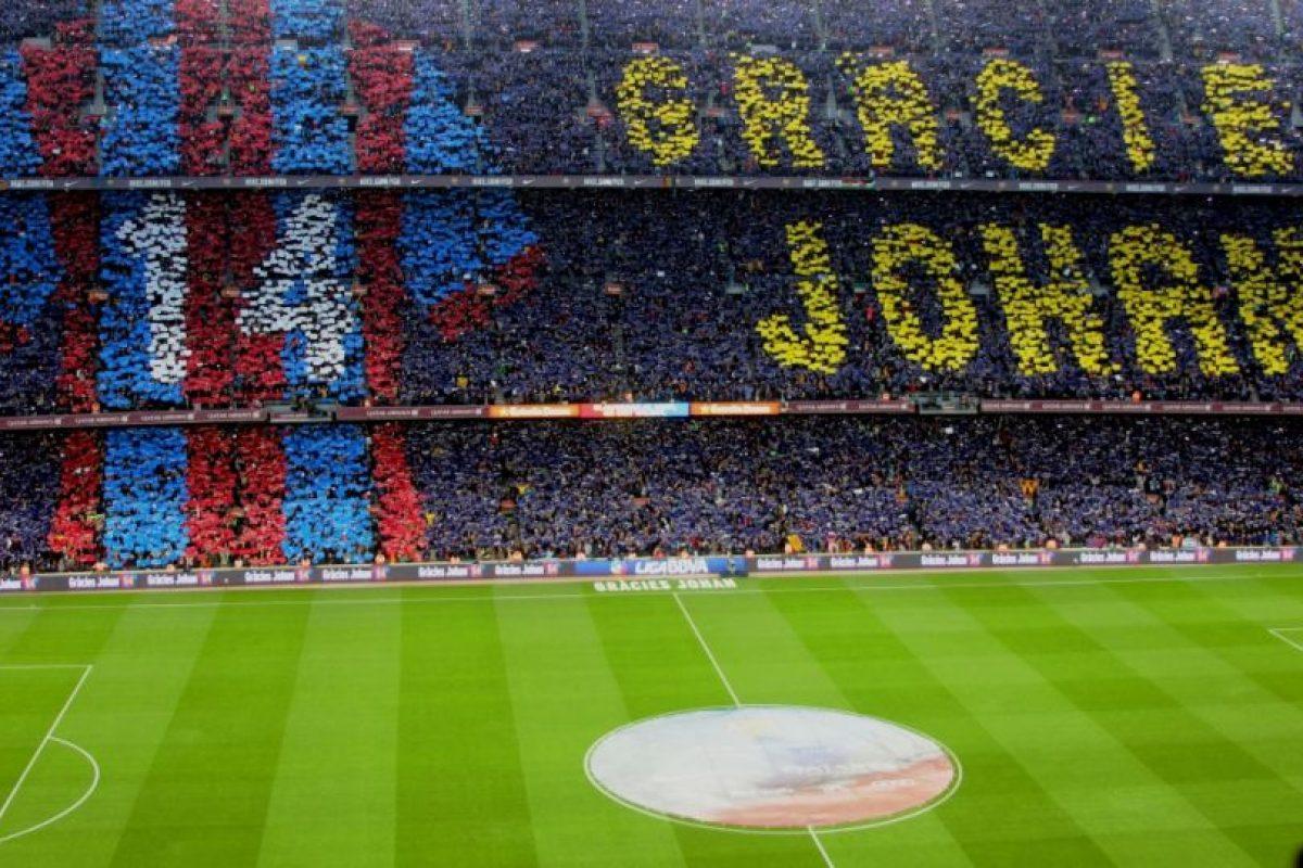 Además del homenaje a Johan Cruyff por parte del Barça. Foto:Hilario Alcayaga. Imagen Por: