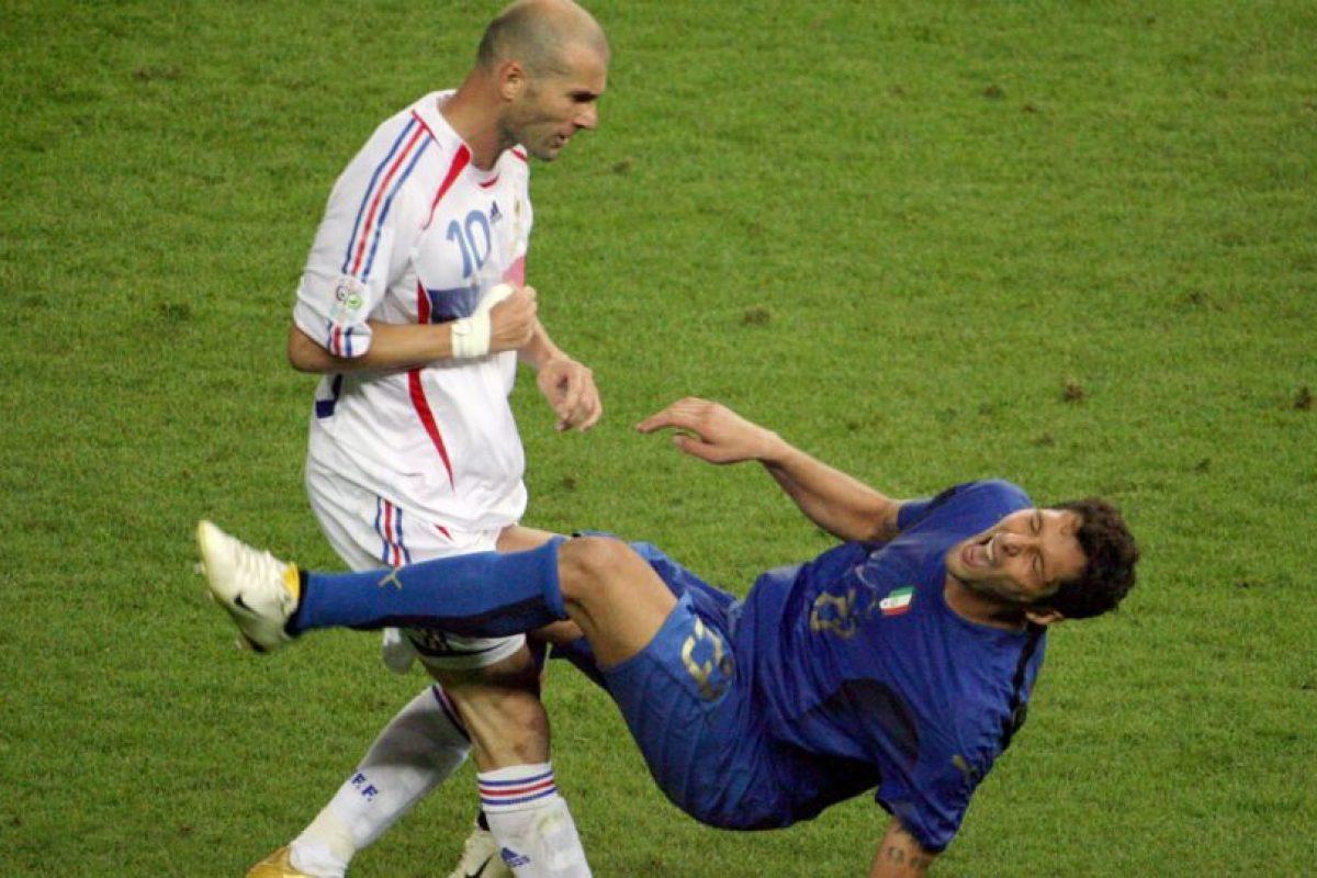 3. Marco Materazzi provocó la furia de Zidane Foto:AFP. Imagen Por: