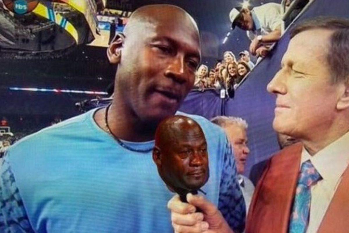 "Miren los mejores memes de ""Jordan Crying"" Foto:Twitter. Imagen Por:"