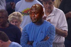 Jordan sufrió la derrota de North Carolina en la final de la NCAA Foto:Twitter. Imagen Por: