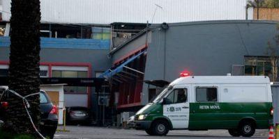 Dos policías heridos y un detenido tras intento de robo en fábrica de Peñaflor