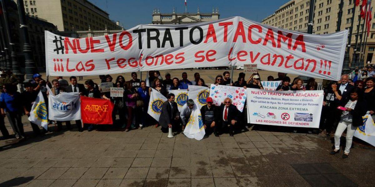 Gobierno rechaza entregar un Bono Atacama: