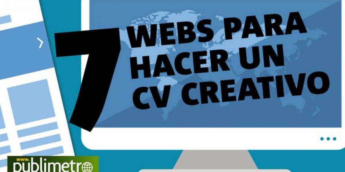 Infografía: 7 web para hacer un cv creativo