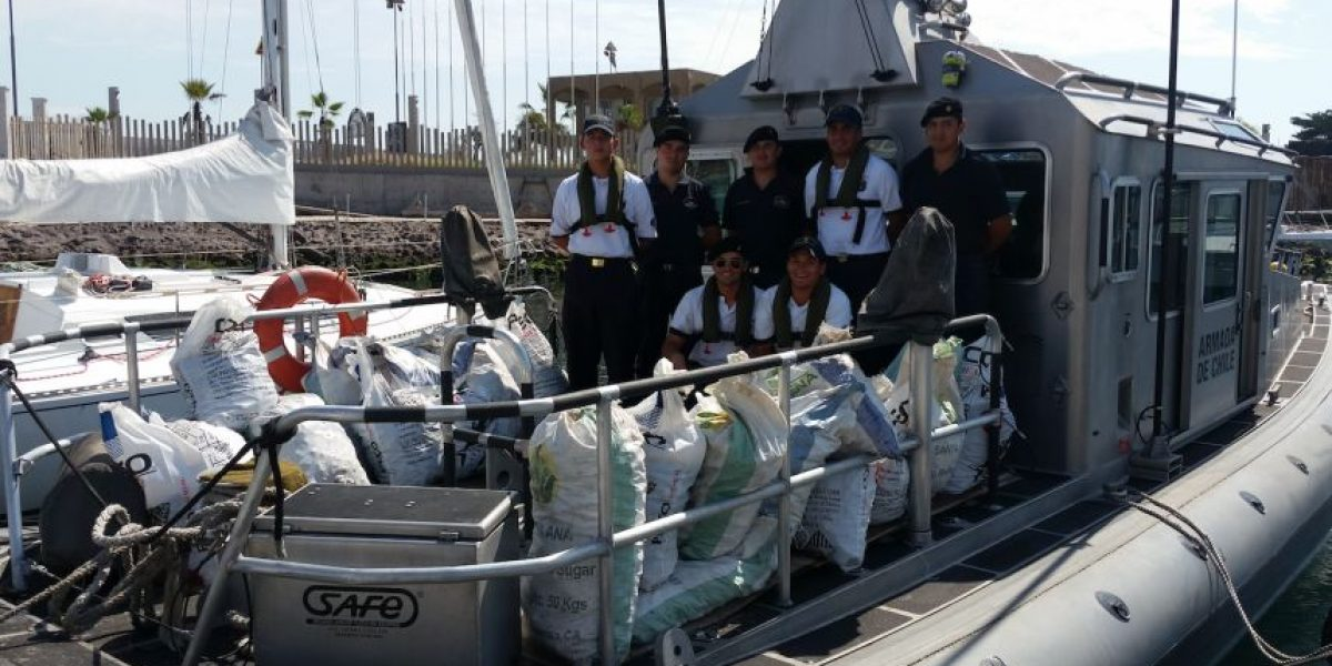 Armada incauta más de 18 mil unidades de mariscos en mal estado en Iquique