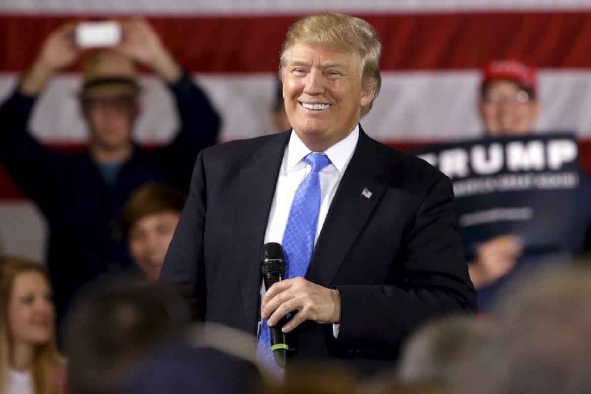 Hasta ahora Trump logró 736 delegados. Foto:AP. Imagen Por: