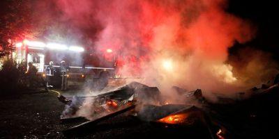Nuevo ataque incendiario en La Araucanía: desconocidos queman la iglesia de Quepe