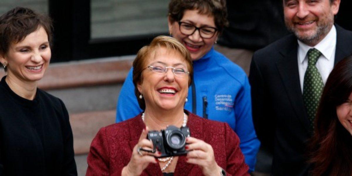 Bachelet destacó Imacec: