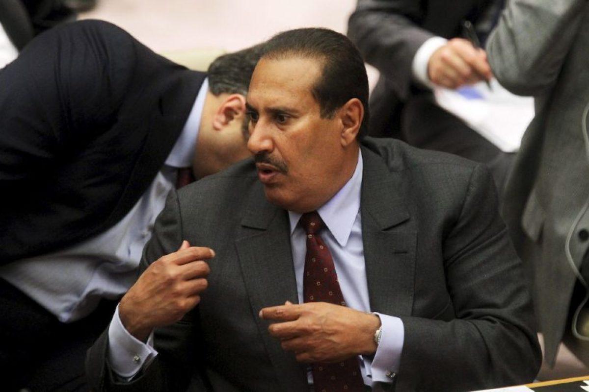 Hamad bin Jassim bin Jaber Al Thani, exprimer ministro de Qatar. Foto:Getty Images. Imagen Por: