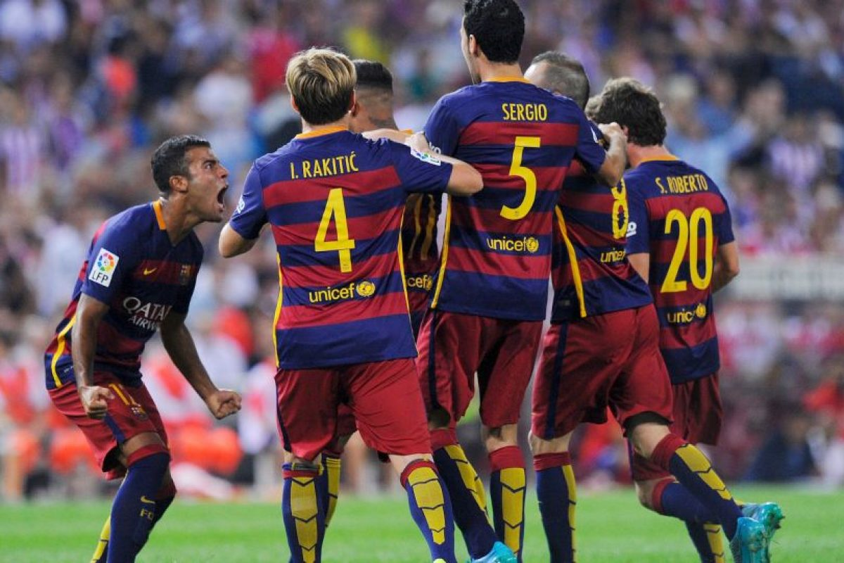 Son los actuales campeones de la Champions y líderes de España Foto:Getty Images. Imagen Por: