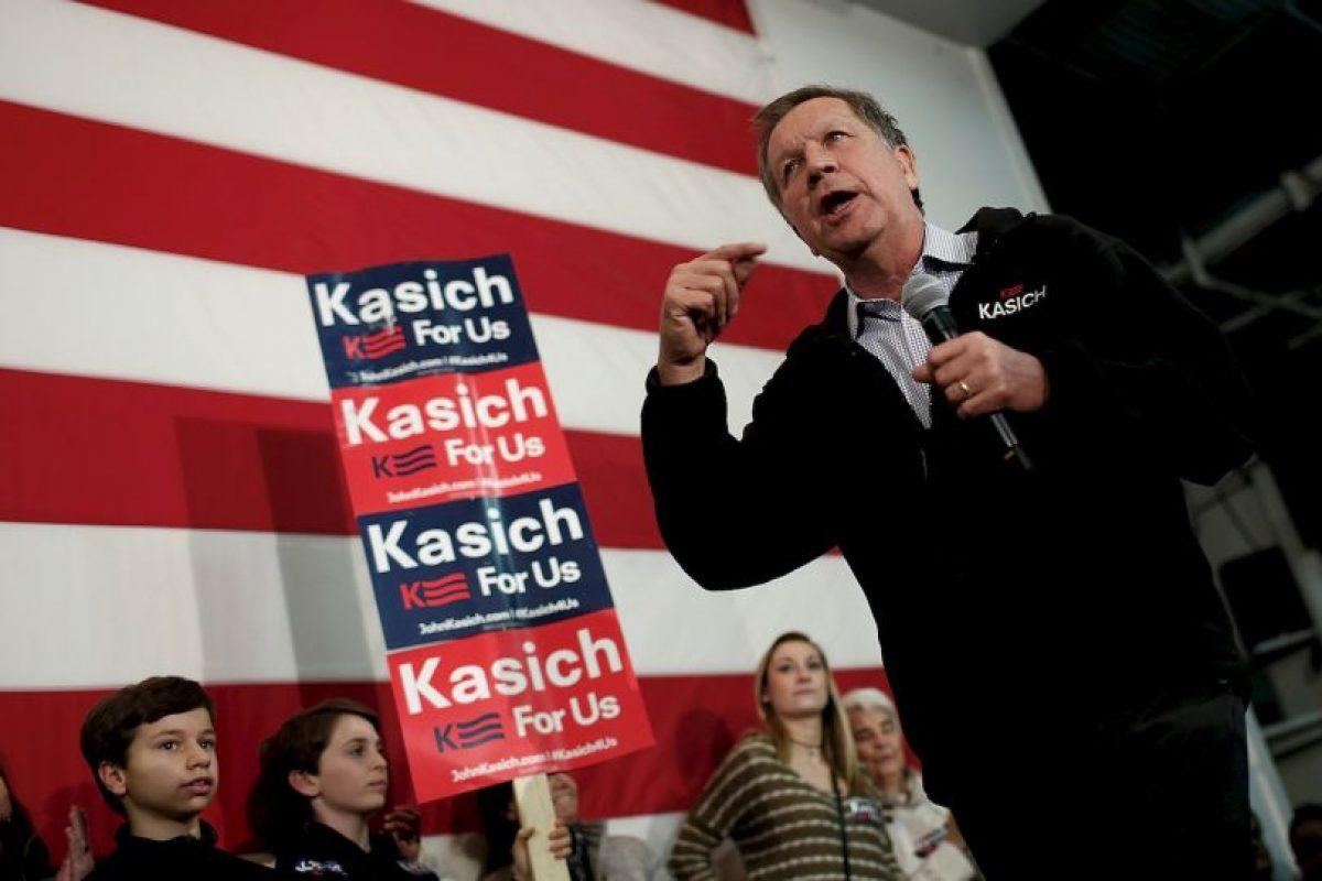 John Kasich: 143 delegados. Foto:Getty Images. Imagen Por: